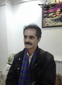 عکس شاعر حسن خیاطی شال