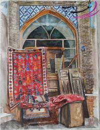 عکس شاعر امنه نوری خانی( صحرا)