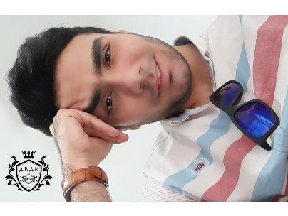 عکس شاعر امیرمحمد آبک