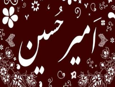 عکس شاعر امیر حسین رحمانی