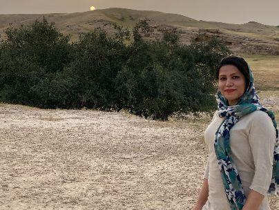 عکس شاعر مژگان حسینی
