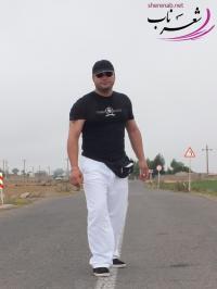 عکس شاعر شهاب احمدي (غروب دلتنگي)