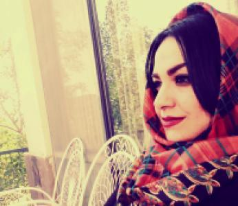 عکس شاعر ماریا قربانی