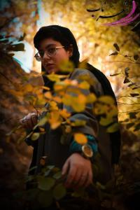 عکس شاعر فاطمه زیدانلویی (لحظه)