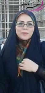 عکس شاعر منصوره محمدی مزینان