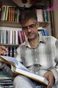 عکس شاعر علی مزینانی عسکری