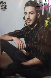 عکس شاعر مهران عابدینی (کاغذ)