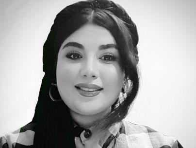 عکس شاعر عاطفه بابازاده خمیران