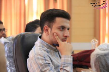 عکس شاعر رضا سعیدی بروجنی