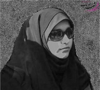 عکس شاعر زیبا علیزاده